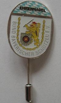 Ehren Anstecknadel, Silber