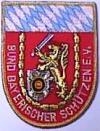 Aufnäher BBS-Bayern, rot